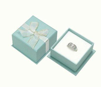緞帶蝴蝶結Tiffany藍珍珠亮面+紙袋戒指盒/項鍊盒 耳環盒 手鍊盒 首飾盒 飾品盒 珠寶盒 婚禮小物 紙盒 批發 禮物盒