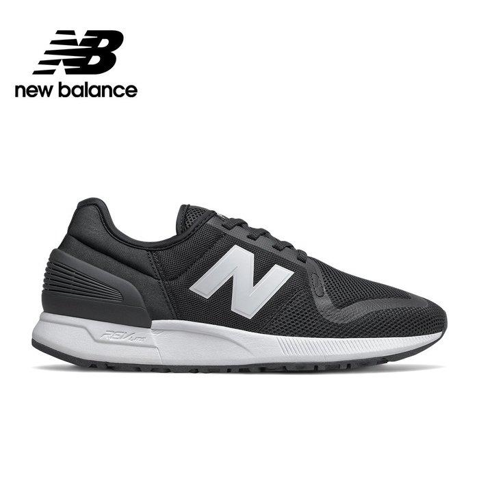 ➕sneakersplus➕ 男女 New Balance 247 復古 運動 慢跑鞋 透氣網 黑白 MS247SG3