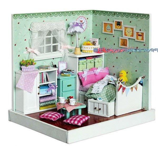 【酷正3C】我的DIY小木屋 袖珍屋 娃娃屋 清新雅居系列 F007綠野仙蹤