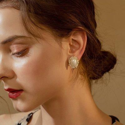 SWEET COVE~無痛珍珠耳夾女高級感耳釘2021年新款潮無耳洞法式小眾設計感輕奢