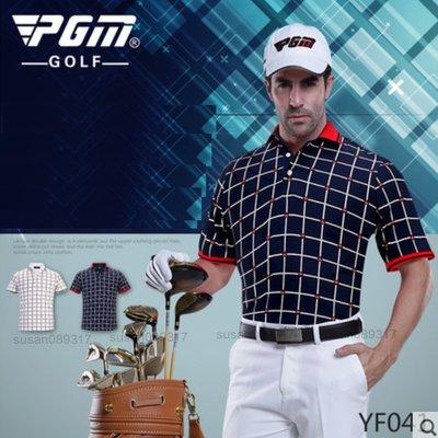 TTYGJ PGM 高爾夫服裝 男款短袖T恤 Golf春夏球服 印花 吸汗速幹 愛心男生POLO衫