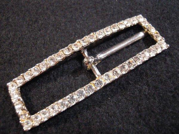 ※布箱子※ 縫紉拼布手作配件~仿古銅皮帶扣.皮包扣(DT405)~22*72mm~剩最後1個