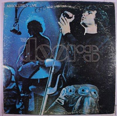 《二手美版黑膠》The Doors - Absolutely Live  只有LP2