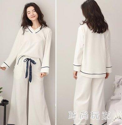大尺碼孕婦月子服薄款產后哺乳棉質孕婦喂奶全棉吸汗睡衣套裝zzy2696