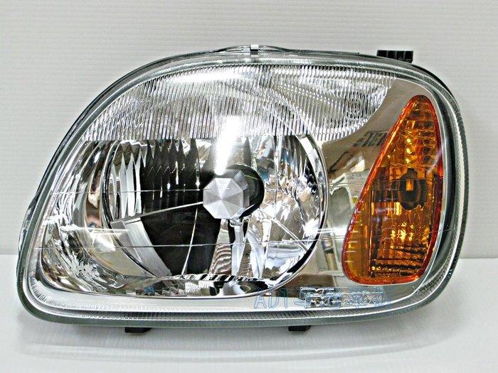 ~~ADT.車燈.車材~~日產 K11 MARCH 99 00 01 02 03 04 歐規玻璃大燈一組2900