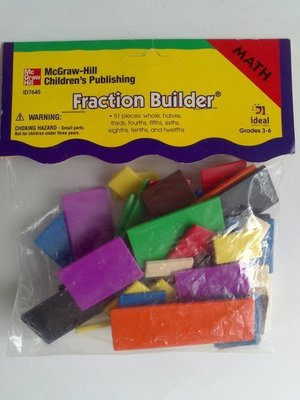 《美國McGraw Hill》【Fraction Builder 分數板】