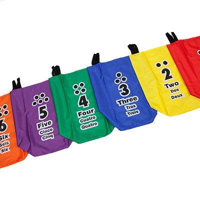 ☆天才老爸☆→【ISPORT 台灣製 體能教具】數字家族跳袋-雙色印刷 ←統感 跳袋 遊戲 全身性 基本 體能 活動
