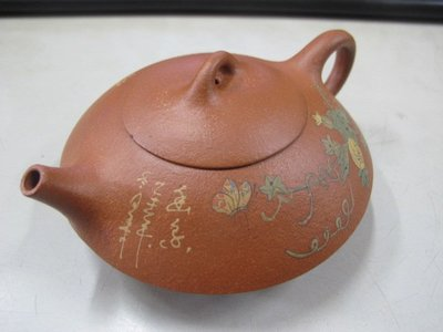 二手舖 NO.3828 紫砂壺 名家工藝美術師 劉馨璐 茶壺 土胎好 手工細膩 值得收藏