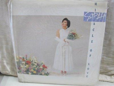二手舖 NO.2735 黑膠 LP 陳淑樺 miacle of love 愛的奇蹟 英文首版專輯 (非復刻版) 稀少盤