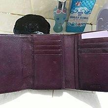 ANNA SUI 皮夾,全新暗紫色