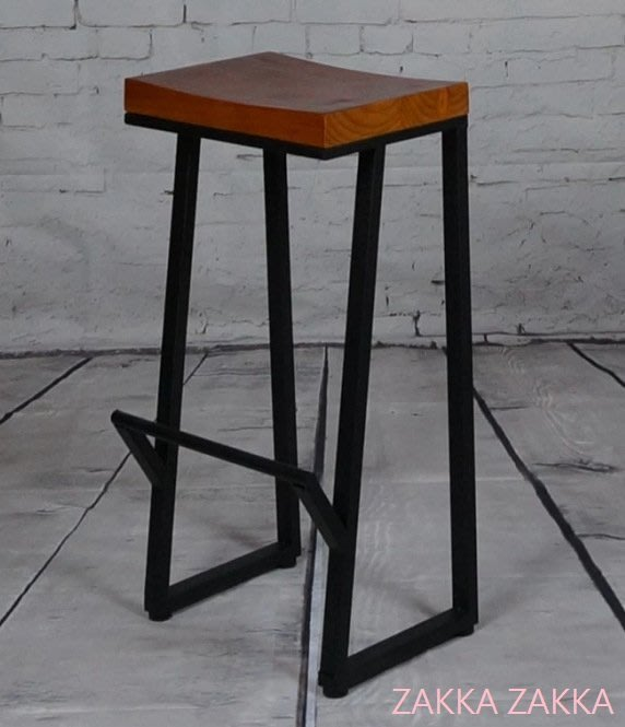 吧椅吧檯椅高腳椅酒吧椅loft美式復古工業風休閒椅鐵藝實木酒吧椅居家餐廳業營場所♡幸福底家♡