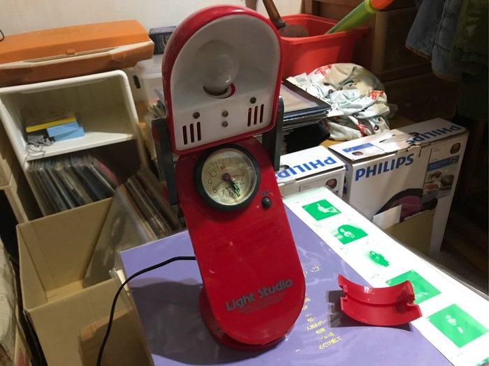 早期 時鐘 檯燈(電燈功能正常,時鐘閙鐘功能正常)