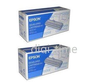 【全新含稅,二件裝】原廠碳粉匣 EPSON S050167 黑色碳粉匣 適用機型 EPL-6200 EPL-6200L