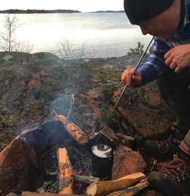 不鏽鋼吹火管【NF587】吹火筒 吹火管 野營 露營 升火專用 伸縮吹火棒