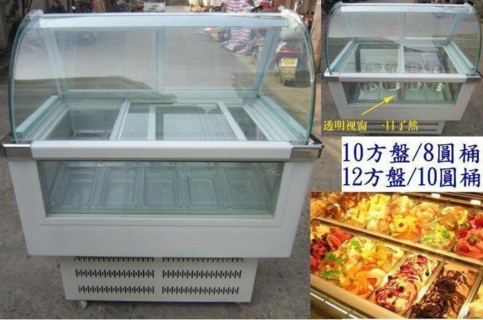 【新視界生活館】硬質冰淇淋展示櫃/冰淇淋櫃/冷凍冷藏冰箱/-18度展示冰箱042004