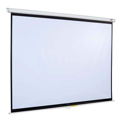 【投影機布幕專售】壁掛/ 下拉 手拉投影機布幕 席白/ 蓆白 1:1 87吋 另有100吋/ 120吋/ 150吋 含運 台中市