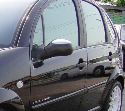 IDFR ODE 汽車精品CITROEN C3 02-06  鍍鉻後視鏡蓋