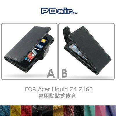 *PHONE寶*PDair Acer Liquid Z4 Z160 側翻黏貼式 / 下掀黏貼式皮套 可客製顏色
