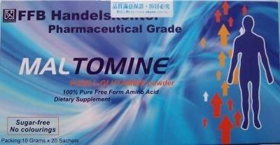 【喜樂之地】樂保命左旋麩醯胺酸 高單位濃縮粉末 20包/盒
