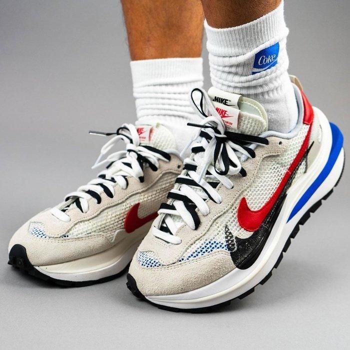 【紐約范特西】代購 Nike Vaporwaffle sacai Sport Fuchsia Game Royalsz8