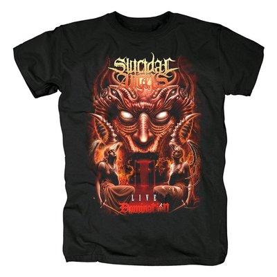Suicidal Angels死亡激流金屬Conquering Europe專輯封面紀念t恤