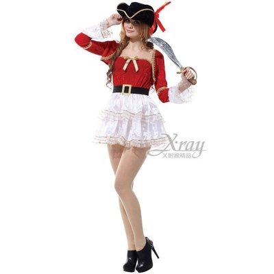 節慶王【W657175】爵士女海盜,化妝舞會/角色扮演/尾牙表演/萬聖節/聖誕節/cosplay/變裝派對