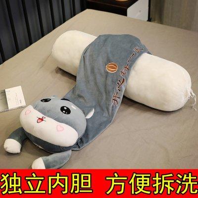 可愛毛絨玩具玩偶布娃娃大公仔懶人抱枕女生抱著睡覺夾腿床上女孩