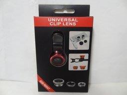全新Universal Clip Lens 3 in 1 手機外接鏡頭組手機/平板濾鏡組