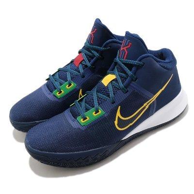 =CodE= NIKE KYRIE FLYTRAP IV EP 針織網布籃球鞋(藍白黃)CT1973-400 XDR 男