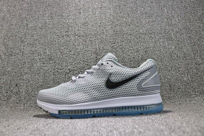 Nike Zoom All Out Low 2.0 灰色 經典 網面 氣墊 休閒慢跑鞋 男鞋 AJ0035-005