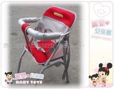 麗嬰兒童玩具館~Mother's Love-可調高低透氣布機車椅.有安全帶