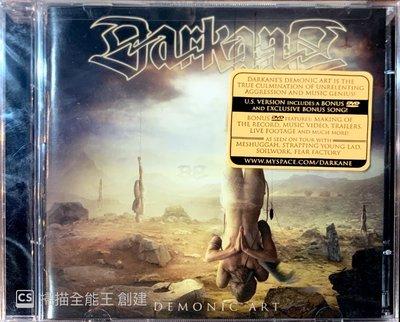 【搖滾帝國】瑞典旋律死亡Melodic Death金屬樂團 DARKANE 2008發行 Demonic Art進口專輯