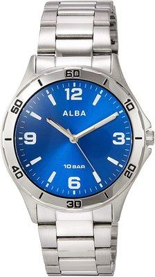 日本正版 SEIKO 精工 ALBA AQPK412 男錶 手錶 日本代購