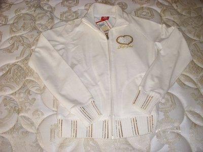 ※專櫃正品top girl棉質白色小外套