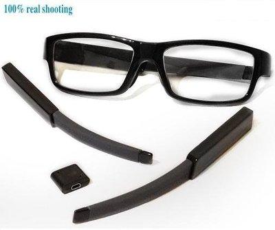 GL8 真正可換電池鏡片 更高隱形科技,完全看不見針孔,鏡片可更換時尚眼鏡型攝影機,特殊專利設計,內建16GB,特價出清
