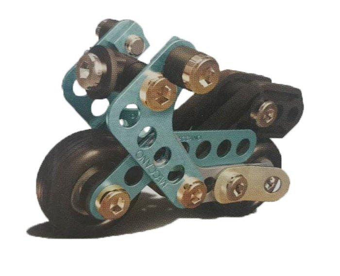 【阿LIN】6713AA Meccano 入門套件組 金屬積木組合 機車造型 模型 擺飾 益智