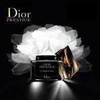 全新Dior 精萃再生花蜜活膚晚霜50ml