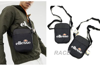 【RACE】ELLESSE PENNA FLIGHT BAG 腰包 小包 側背包 單肩包 素面 基本款 黑