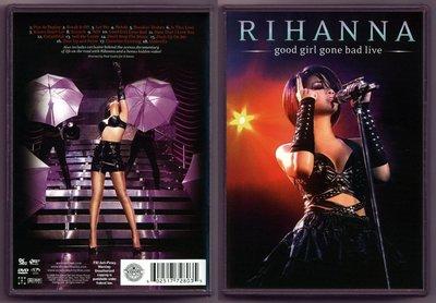 南方音像高清藍光碟 蕾哈娜 Rihanna Good Girl Gone Bad Live (藍光BD25G)