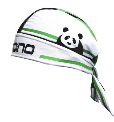【Paladin】防風防曬透氣調整式頭巾 :: 熊貓