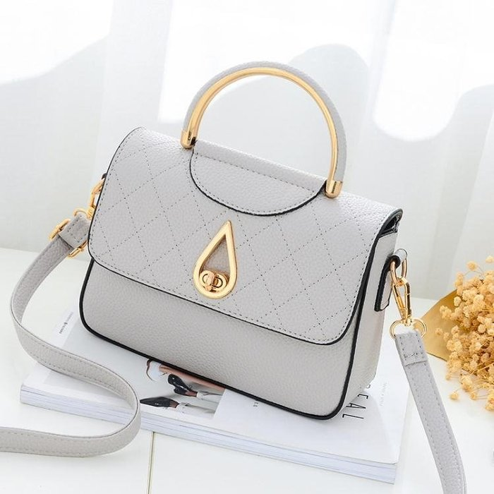 手提包 女包包2018新款潮韓版百搭時尚夏天小包包LJ8187