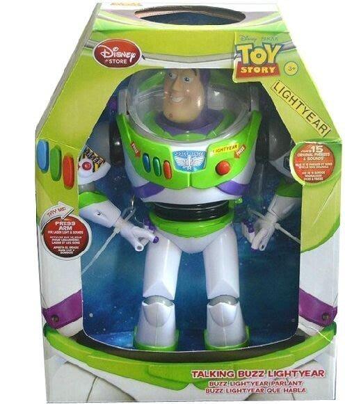 【優上精品】迪士尼玩具總動員3 巴斯光年玩偶 聲光彈翅膀會講話 關節可動(Z-P3281)