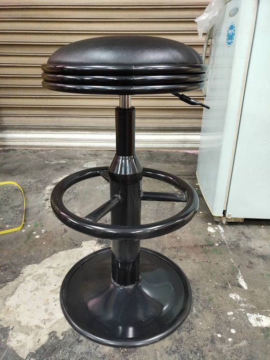 非凡二手家具 全新 吧檯椅(黑)*吧台椅*吧檯椅*升降椅*矮凳*圓椅*美髮椅252-8