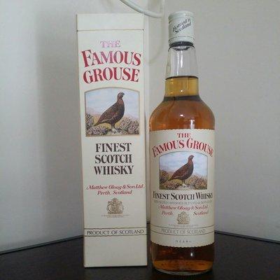 蘇格蘭 威雀 威士忌 舊裝舊酒 The Famous Grouse 750ml 原裝盒