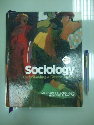 A0-5cd☆『 Sociology:Understanding a Diverse Society』(附光碟)