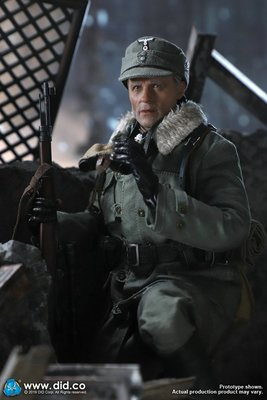 DID D80138 1/6 兵臨城下斯大林格勒狙擊手科寧少校2.0