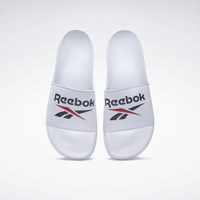 南◇2021 1月 REEBOK FULGERE 運動拖鞋 男女鞋 FZ0946深藍色 FZ0947 白 FX3093綠