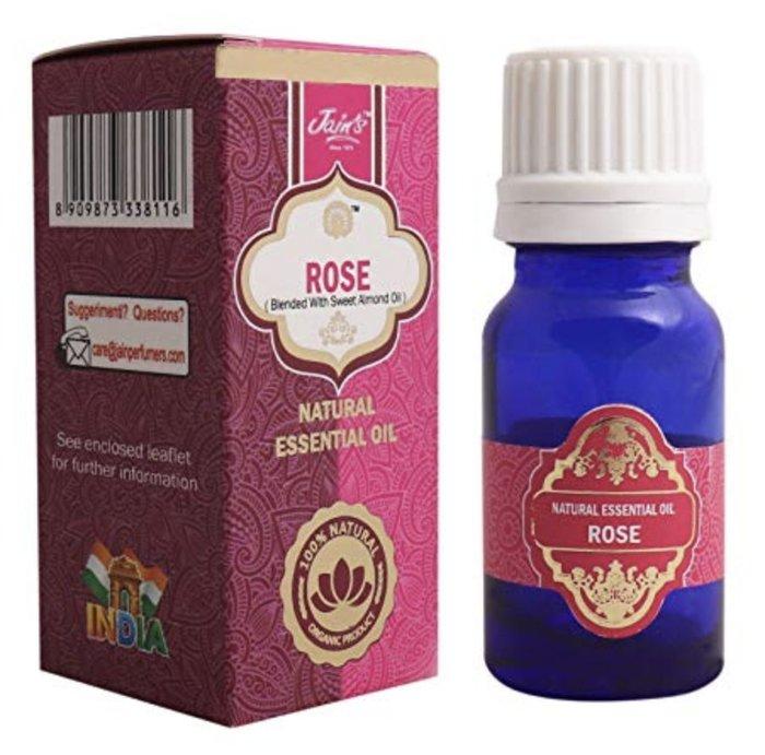 [綺異館]印度精油 玫瑰 10ml JAIN'S ROSE 另售印度皂 印度香