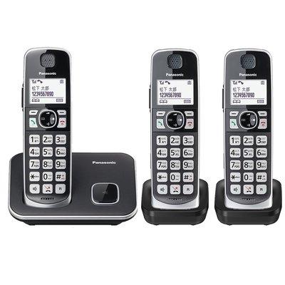 ✿國際電通✿【免運,買就送側背包】 Panasonic 國際牌 DECT 中文數位無線電話 KX-TGE613 TW