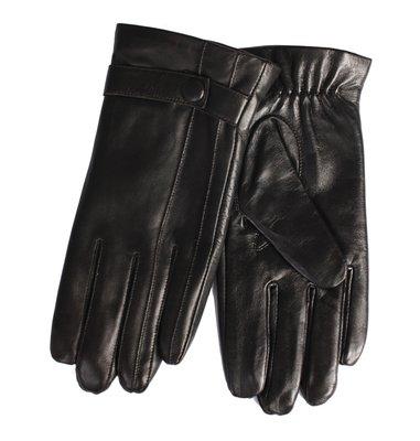 真皮手套羊皮手套-黑色綿羊皮騎車修手男手套73wf21[獨家進口][米蘭精品]